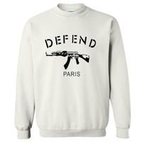 paris hoodie savun toptan satış-2017 Erkekler hoodies Tişörtü DEFEND Stil Kapşonlu Sweatshirt Erkekler kış DEFEND PARIS Mens Hoodies ve Spor mens