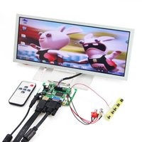 "Wholesale Vga Lcd Panel - Wholesale-HDMI+VGA+2AV LCD Controller Drive Board +12.3"" Inch 1280*480 LQ123K1LG03 LCD Panel Repartment"