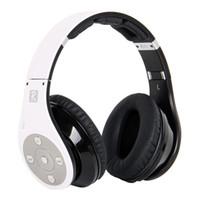 Wholesale Bluedio Nfc - Bluedio R+ Bluetooth Headphones Supports NFC Bluetooth4.0 Deep bass wireless Headphones headset over the ear Headphones