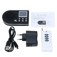 Wholesale Speaker Remote Controller - Free shiping 1pc Hunting Bird MP3 Player caller speaker tools With Remote Controller S515 free shipping