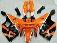 94 plásticos ninja al por mayor-Kits de cuerpo completo Zx6r 1994 Carrocería Ninja Zx-6r 96 97 Carenados plásticos 636 Zx-6r 94 95 1994 - 1997