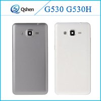 Wholesale Back Cover Grand - For Samsung Galaxy Grand Prime G530 G530H Back Housing Door Battery Back Cover Case Replacement High Quality