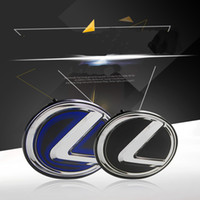 Wholesale Grille Grill - Front Grille HYBRID GRILL Emblem Badge Decal for LEXUS CT200h RX450H IS250 CT200H ES300h 2010-2014 Free SHIP