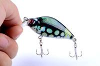 gefälschte plastikfische großhandel-2 stücke von Bionic Schatten Bass Fishing Lures Köder 6,5 cm, 8,5g Kunststoff Künstliche Swimbait Angeln Pesca Angelgerät Haken Gefälschte lockt