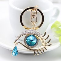 Wholesale Diamond Key Chain Crystal - Newest Crystal Keychain CZ Diamond Animal Key Alloy Gold Plated Key Rings Chains Car Keyring Bag Earrings Accessories Keychains Women Gifts