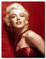 Wholesale Oil Painting Canvas Sex - Framed, Free Shipping Genuine MARILYN MONROE LEGENDARY SEX, hand-painted Art portrait Oil Painting on Canvas Decor Wall Multi sizes R140