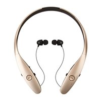Wholesale Retractable Bluetooth - HBS-900 Stereo Wireless Bluetooth headset Headphone CSR CHIP Sports Style with Retractable wire management handsfree for IOS Android