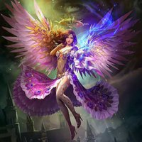 Wholesale Black Magic Paint - Sexy Fairy Magic DIY Full Square Diamond Painting 5D Diamond Mosaic Cross Stitch Embroidery Home Decor (Free Shipping)
