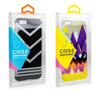 einzelhandel verpackung für handy großhandel-Mode blase pvc kunststoff transparent klar kleinverpackung maßgeschneiderte verpackung box für iphone x 6s plus 7 8 plus handy case