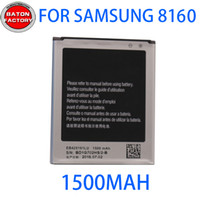 Wholesale Gt S7562 - Battery for samsung GT-I8160 original battery S7568 S7566 S7572 S7562 SCH-I699 battery plate high quality battery.