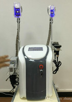 Wholesale Cryo Laser - DHL Free shipping portable cryo lipolysis slimming machine fat freeze cryotherapy Ultrasound RF liposuction lipo laser machine