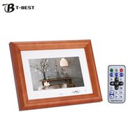 """Wholesale Digital Picture Albums - Wholesale-Andoer 7"""" LCD Digital Photo Frame Electronic Picture Frame Photo Album MP3 MP4 Movie Player E-book Clock With Remote Controller"""