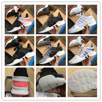 Wholesale Hot Woman New - NEW DHLfree 2017 EQT Support ADV Primeknit hot sale high quality running shoes for men and women sports shoes sneakers ,size us 5-11