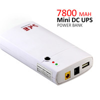 Wholesale Output Dc 5v 1a - Mini DC UPS 7800MAH Power Bank 11-13V Input Voltage Down to 12V 2A DC 5V 1A USB Output Portable Power Protect For 12V 2A Applications
