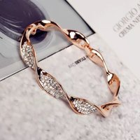 Wholesale geometric bracelets - Europe and America hot sell bracelet Fashion alloy hand ornaments Rose gold geometric designs women bracelets Jewelry
