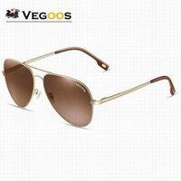 Wholesale Aviator Sunglasses Cheap - High Quality Vintage Aviator Pilot Brand Sunglasses Polarized UV400 Sun Glasses Men Women Mirror Cheap Sale