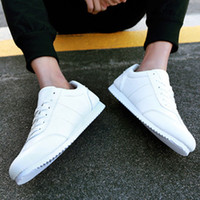 Wholesale Korean Fashion Men Casual Shoe - New style fashion spring and autumn Korean student casual low-tops shoes