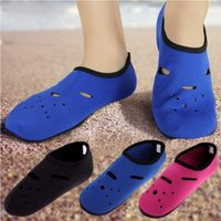 Wholesale Sports Skin Shoes - DHL Barefoot Skin Shoes Aqua Water Diving Summer Men Women Sport Socks Trainers Footwear Beach Socks