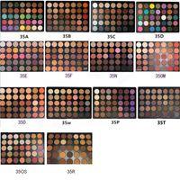 Wholesale Wholesale Glitter Shimmer - Eyeshadow Mor 35 colors Eyeshadow Matte Palette 35OM 35OS 35O 35A 35B 35C 35D 35F 35N 35W 35T 35P 35E 35R 14 Styles