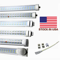 Hot sale 8ft T8 Led Tube lights FA8 Single Pin / Integrated / G13 / R17D Led 72W 8000LM Lampes fluorescentes AC 85-265V