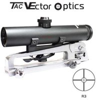 Vector Optics Tactical 4x22 Carry Handle Fucile Compact Scope Prova di scossa Electro Sight fit M AR .223 5.56