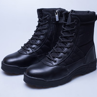 Wholesale working boots steel toe - High Quanlity Men Black Ankle Boots Work Polyester Shoes Safety Protective Shoes Steel Toe Boots Non-slip Wear-resistant Rubber sole