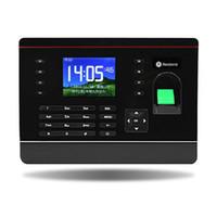 ip englisch großhandel-Großhandels-Realand A-C051 TCP / IP USB RFID Biometrics Fingerabdruck-Zeit-Recorder mit 2,8 Zoll Touchscreen und kostenlose Englisch-Software zum Verkauf