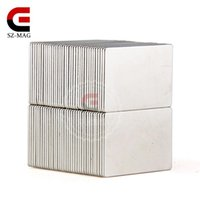 Wholesale neodymium bar - 4pcs Strong Rare Earth Bar Neodymium Magnets N50 30x20x1mm Permanet Customizable magnets