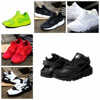 Wholesale Cheap White Shoes For Women - Classical Huaraches Running Shoes For Women & Men, Breathable Cheap Air Huarache Athletic Sport Sneakers Eur Size 36-45