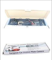 ingrosso targhetta targata lcd-European European Plate Plate Sensore di parcheggio Sensori Quattro senza foratura voce umana Bibi Sound Alarm 64 colori per scegliere DHL libero