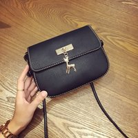 Vente en gros - LEFTSIDE 2016 Nouveau PU Soft Leather Women Handbag Long Strap Femme Épaule Messenger Small Bag Handbags-China For Girls