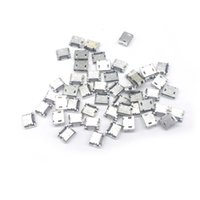 Wholesale Micro Usb Plug Connector - 1000 Pieces total Micro USB 5 Pin type B Flat DIP jack tail sockect Micro Usb Connector Port Sockect For Samsung Lenovo Huawei ZTE HTC ect