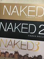 Wholesale Palette Eyeshadows - Eyeshadows makeup palettes Hot Naked 12color Professional Makeup Naked Palettes Eyeshadow with Make up Brush Case Cosmetic set Free shipping