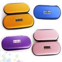cremallera ego casos coloridos al por mayor-Funda Ego con bolsos coloridos Bolsas Ego con cremallera para kit de EGO Cigarrillo electrónico DHL de alta calidad gratis