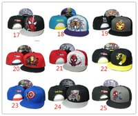 Wholesale Cheap Snapbacks For Boy - wholesale US Tokidoki Caps 26 Styles TKDK Adjustable Hats Snap Back Hats Cheap Hip Hop Cap Fashion Snapback Hats for Girls and Boys Top Hat