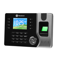 Wholesale Fingerprint Time Clock Usb - Biometric Fingerprint Time Clock Recorder Attendance Digital Electronic Reader Machine AC071 USB Office Time Recorder Support ID