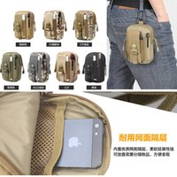 Nouvelle ceinture universelle Bum Sac Sport Running Mobile Phone Housse Housse Molle Pack Purse Pouch Wallet Pen pour iPhone Cellphone Notebook Tool