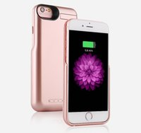 Preço de fábrica 10000mAh External Backup Battery Charger Case para iPhone 6 / 6s / 7 Portable Power Bank Case para iPhone 6 / 6s / 7 Plus
