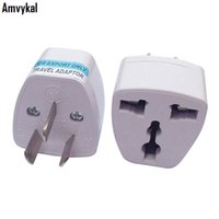 Wholesale Hot Electrical Plug - Amvykal Hot Sale Universal Australia Travel Charger Adaptor US UK EU To AU Plug Adapter Converter AC Power Electrical Plug Adapter Connector