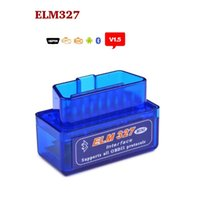 Elm327 Ecu Pas Cher-Super MINI ELM327 Bluetooth V1.5 ELM 327 Version 1.5 pour scanner de code de voiture Android / PC avec OBD2 / OBDII Can