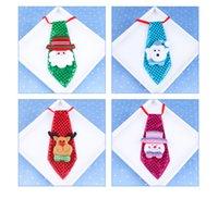 small gift оптовых-Новогодние украшения Fashion Галстук Рождественский светящийся галстук Взрослые дети школьные украшения Рождественские креативные небольшие подарки wen4664