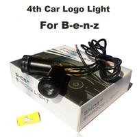 luzes auto fantasma venda por atacado-4o logotipo Do Carro Luz Emblema Laser Lâmpada Porta Auto Sombra Lâmpada Sombra Para AMG w202 W202 w202 w204 w204 w211 w211 w222 w164 C SLK CLK