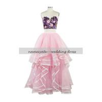 Wholesale Candy Silver Balls - Candy Pink Ball Gown Sweetheart Zipper Floor Length Sleeveless Cascading Ruffles,Handmade Flower Real Sample Evening Dresses