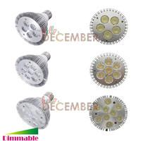 Wholesale Cree Led Lights Wholesale - CREE PAR30 LED Lights Dimmable 10W 14W 18W E26 E27 LED Spotlight Lamp Bulbs AC 110-240V