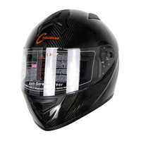 Wholesale Carbon Cycle Helmets - 2017 Newest Cyclegear Carbon Fiber Motorcycle Full Face Helmet Ultralight 1280g Motorbike Casco Capacetes Cycling Protective Gear CG931