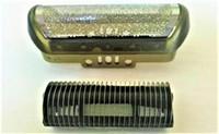 Wholesale Foil Shavers - Shaver Outer Foil Screen + Blade For Braun z20 z30 z40 z50 z60 z70 10B 110 120 140 150 170 180 190 New Razor Beard Cutter