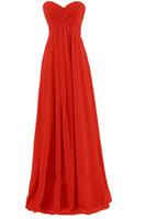 Wholesale yellow strapless maxi online - Women s Strapless Layers Chiffon Bridesmaid Wedding Dresses Prom Gowns Long Lady Dress Chiffon Party Evening Dress