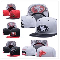 Wholesale Boys Snapbacks - Top Sale 2017 new Football Snapbacks Cheap Sports Team Caps High Quality Snap Backs Girls and Boys Hats Most Popular Team Flat Hats