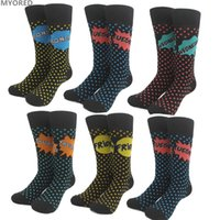 Wholesale Days Week Socks - 100Pair DHL 2017 fashion british 7 days weekly socks mens women cotton crew knee high week socks jacquard funny skateboard hip hop sox