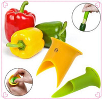 Wholesale Pepper Core - New Utility Chili Peppers Seed remover Tomatoes Core Separator Device Kitchen Tools G441